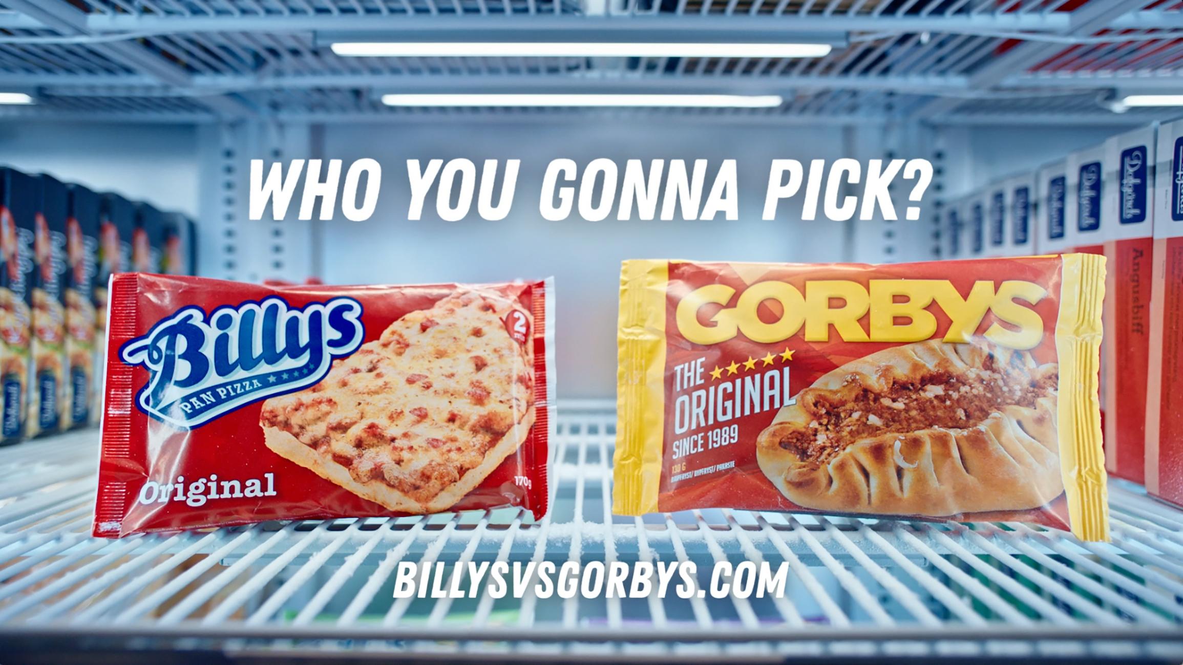 Billys vs. Gorbys